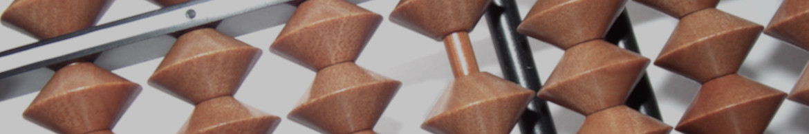Header image of a close-up of a soroban